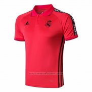 Camiseta Polo del Real Madrid 2019-2020 Rojo