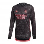 Camiseta del Real Madrid 3ª Equipacion Manga Larga 2020-2021