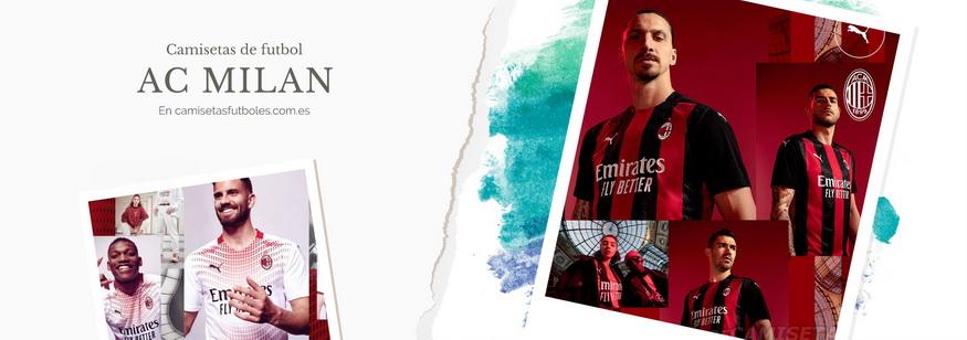 camiseta AC Milan barata 2021