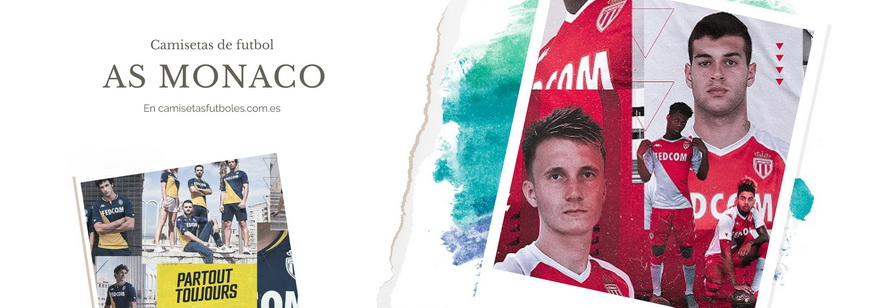 camiseta AS Monaco barata 2021