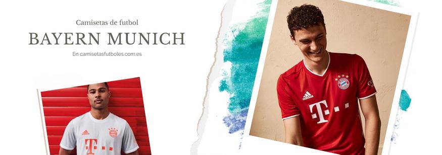 camiseta Bayern Munich barata 2021