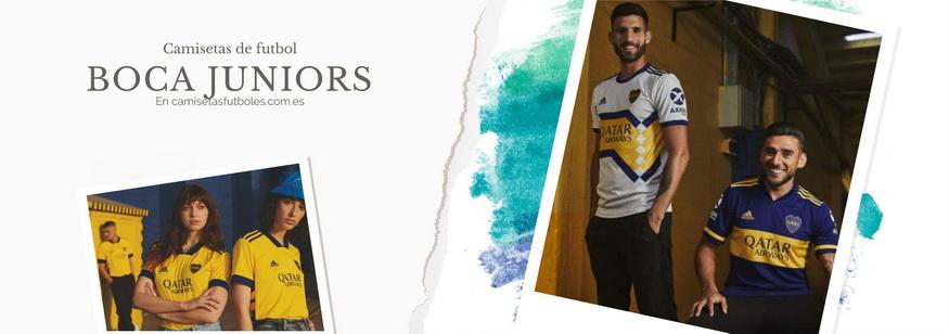 camiseta Boca Juniors barata 2021