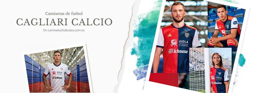 camiseta Cagliari Calcio barata 2021
