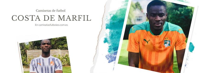 camiseta Costa de Marfil barata 2021