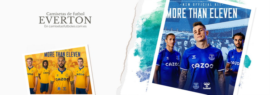 camiseta Everton barata 2021