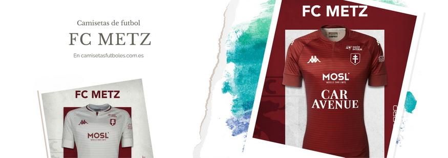 camiseta FC Metz barata 2021