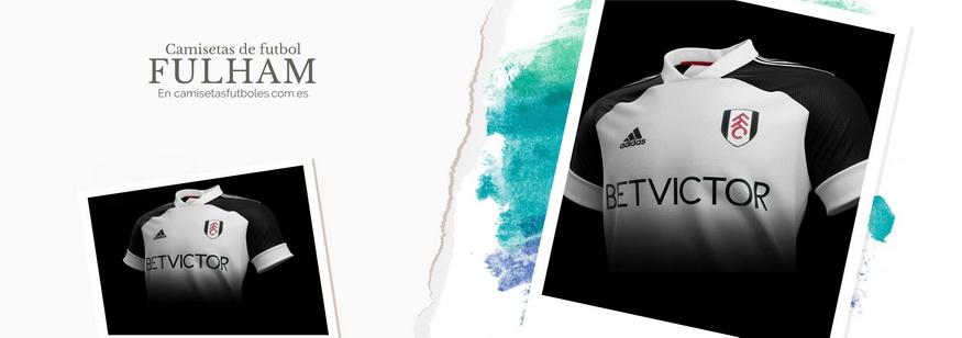 camiseta Fulham barata 2021