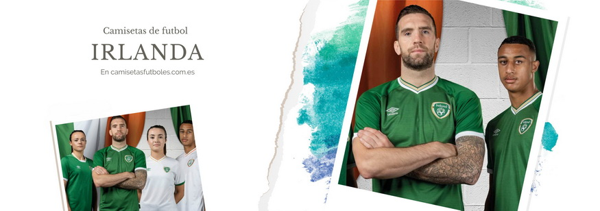 camiseta Irlanda barata 2021