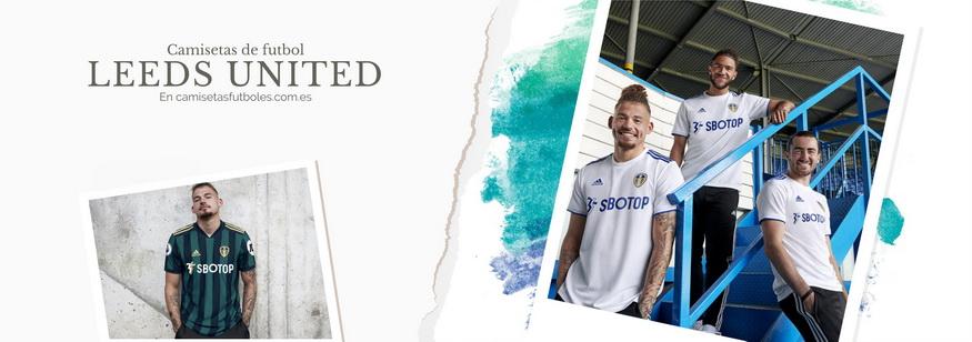 camiseta Leeds United barata 2021