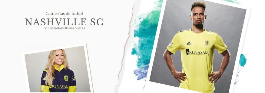 camiseta Nashville SC barata 2021