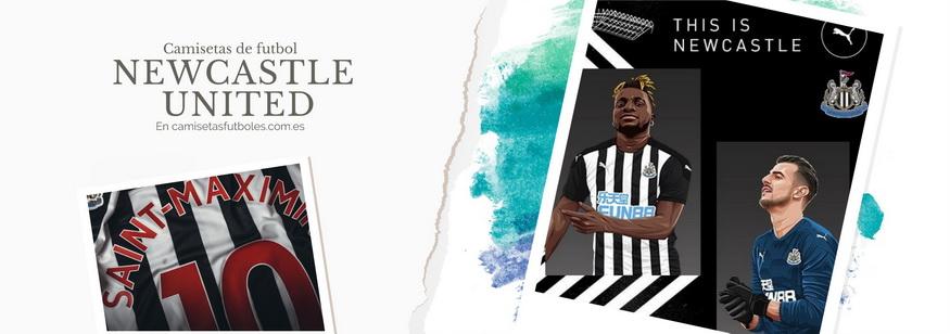 camiseta Newcastle United barata 2021