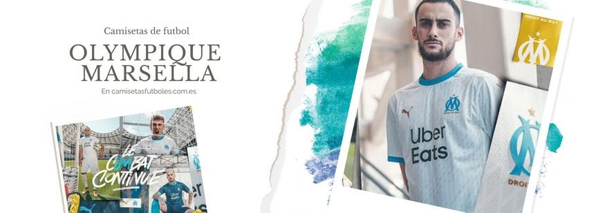 camiseta Olympique Marsella barata 2021