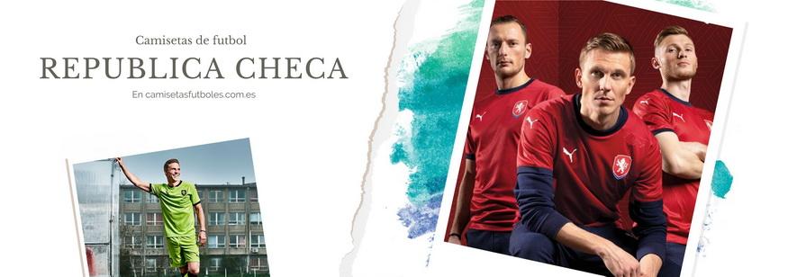 camiseta Republica Checa barata 2021