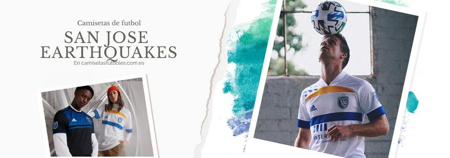 camiseta San Jose Earthquakes barata 2021