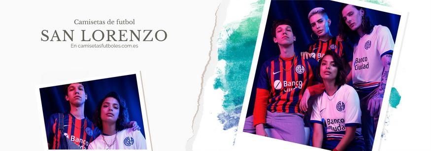 camiseta San Lorenzo barata 2021