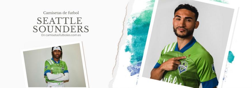 camiseta Seattle Sounders barata 2021