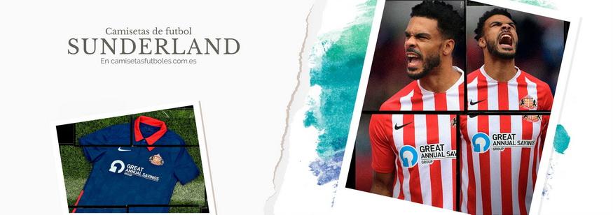 camiseta Sunderland barata 2021