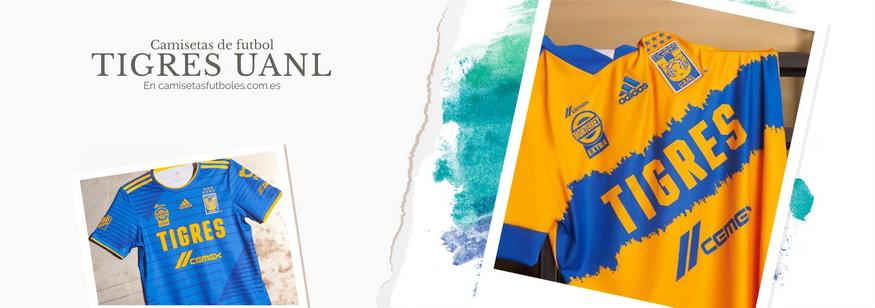 camiseta Tigres UANL barata 2021