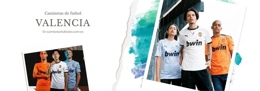 camiseta Valencia barata 2021