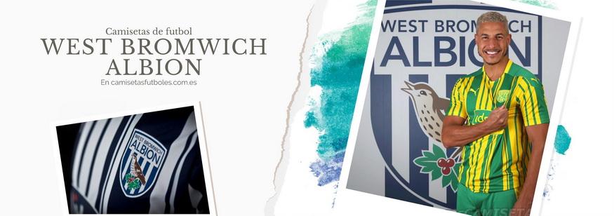 camiseta West Bromwich Albion barata 2021
