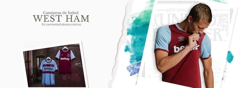 camiseta West Ham barata 2021
