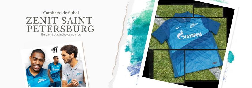 camiseta Zenit Saint Petersburg barata 2021