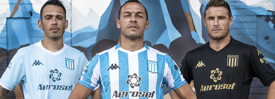 camiseta Racing Club barata 2020
